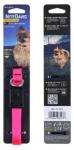 NiteDawg LED Light-Up Hundehalsband für kleinere Hunde in pink, Größe XS