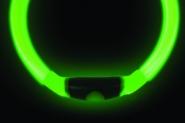 NiteHowl LED Leuchthalsband in grün