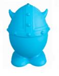 """Spielzeug """"Wikinger"""" - mittel in blau"""