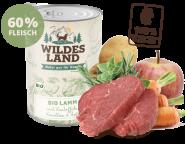 Wildes Land - Bio Lamm mit Kartoffeln, Karotten & Äpfeln 400g