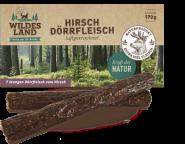 Wildes Land - Dörrfleisch Hirsch 170g