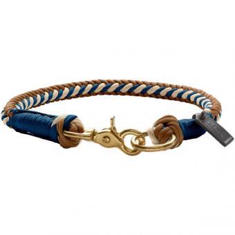 """Hunter - Halsband """"Tinnum"""" in beige/blau"""