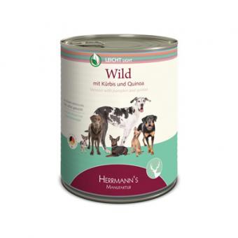 Herrmann's - Wild mit Kürbis und Quinoa 800g