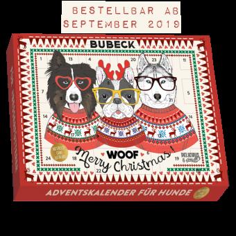 Bubeck - Hipster Adventskalender 2019 - getreidefrei