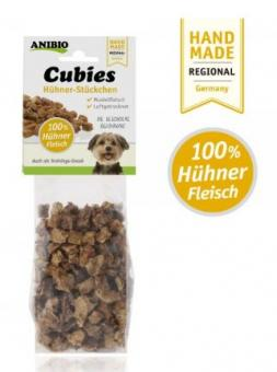 Anibio Cubies Huhn - 100g Packung