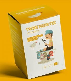 Trink MEER Tee - Fette Beute Beutel