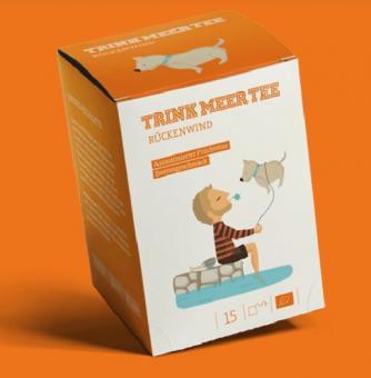 Trink MEER Tee - Rückenwind Beutel
