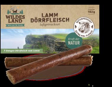 Wildes Land - Dörrfleisch Lamm 170g