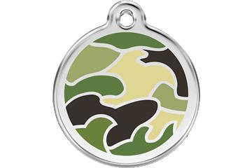 """Gravurmarke """"Camouflage grün"""""""