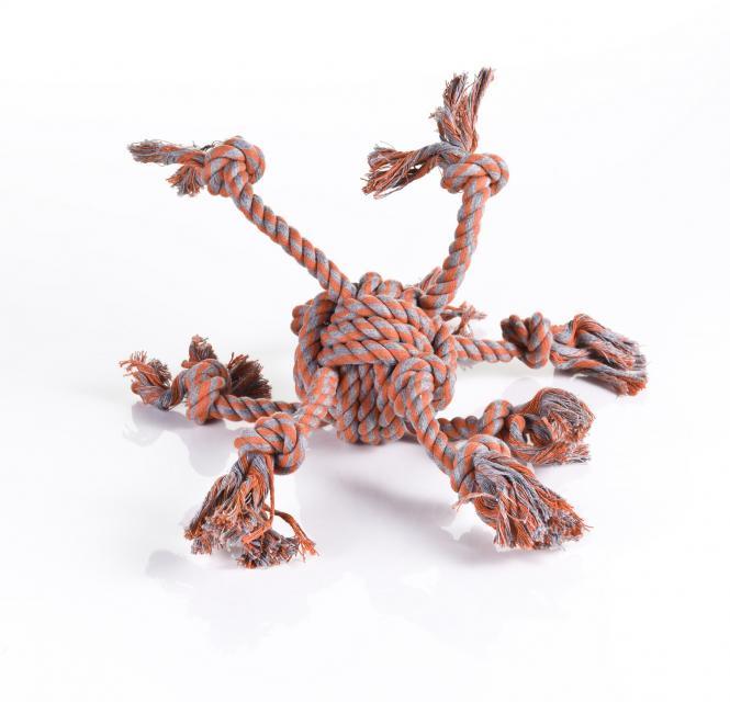 "Baumwoll-Knotenspielzeug "" Tau Octopus"""