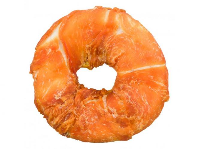 Rinderhaut Donut mit Huhn ummantelt - ca 110 g/Stk.