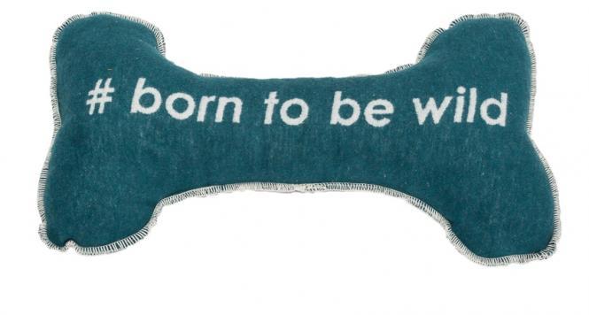 "David Fussenegger`s Hunde-Wende-Kissen  ""Born to be wild"""