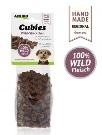 Anibio Cubies Wild - 100g Packung