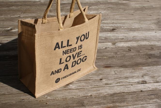 Treusinn Eco-Shopper aus Jute