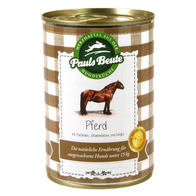 """Pauls Beute """"Pferd getreidefrei - mit Pastinake, Johannisbeere und Gingko"""" 400 g"""