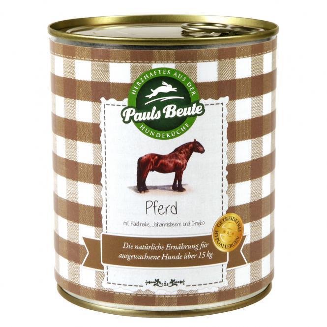 """Pauls Beute """"Pferd getreidefrei - mit Pastinake, Johannisbeere und Gingko"""" 800 g"""