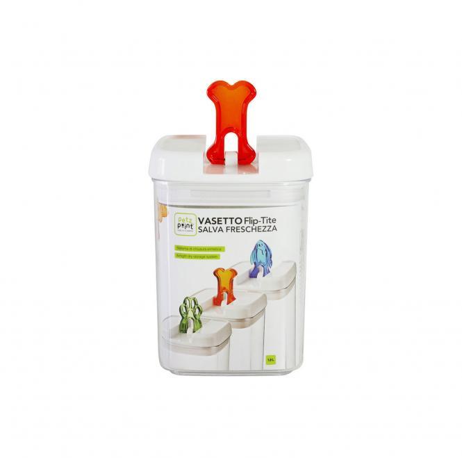 Lekkerlie-Dose von PetzPoint - Verschluß orange in 3,1 l