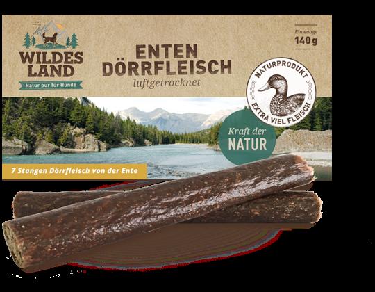 Wildes Land - Dörrfleisch Ente 170g